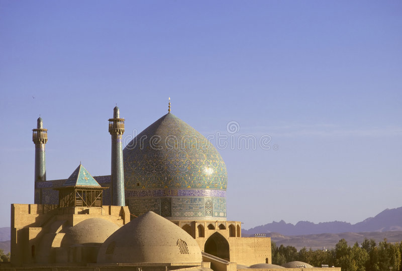 Isfahan mosque royalty free stock images