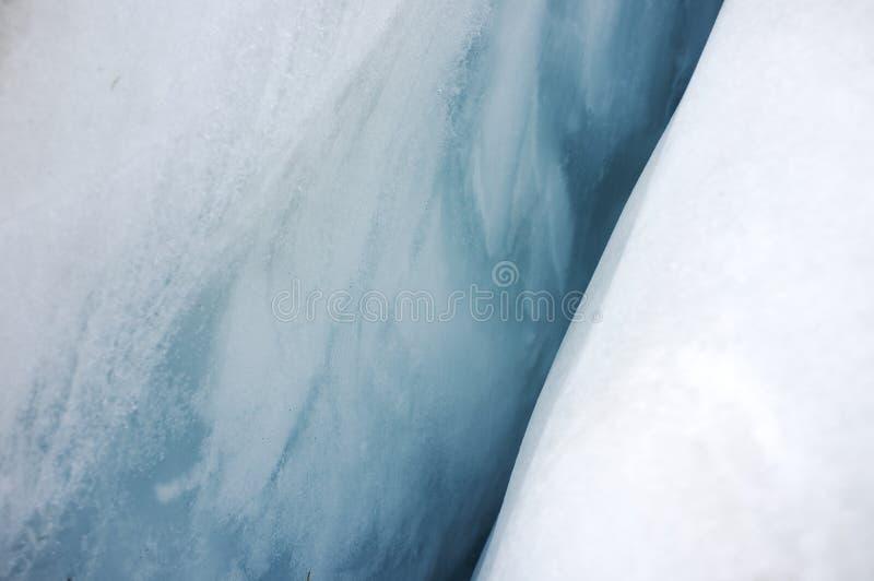 Isform i Franz Josef Ice Glacier, Nya Zeeland arkivbild
