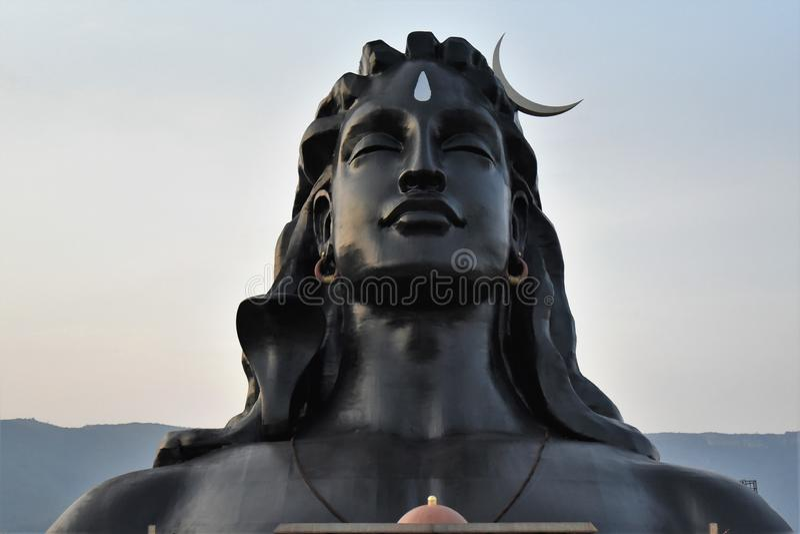 Isha fundament, Coimbatore, Indien royaltyfria bilder
