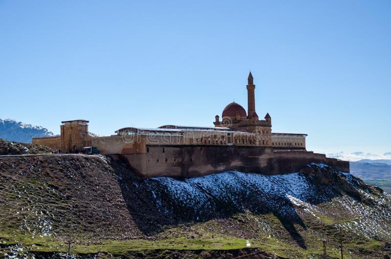 Ishak Pascha Palace. Rear view of Ishak Pascha Palace stock photography