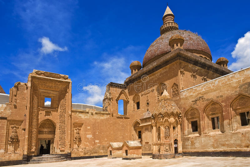 Ishak Pasha Palace royalty-vrije stock fotografie