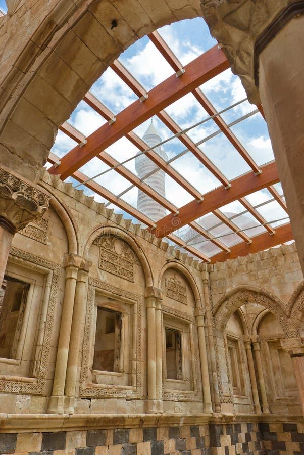 Ishak Pasha`s palace. The interior of Ishak Pasha`s palace in eastern turkey royalty free stock photography