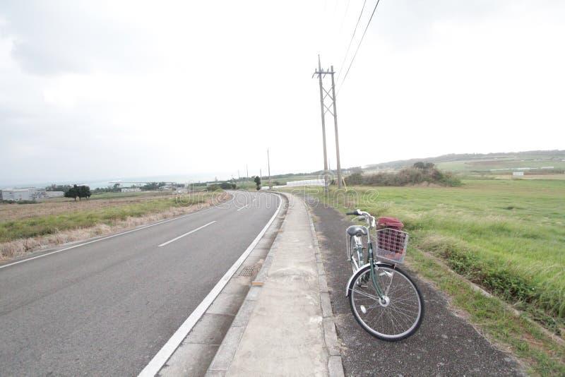 Ishigaki-Straßenansicht in Japan stockfotos