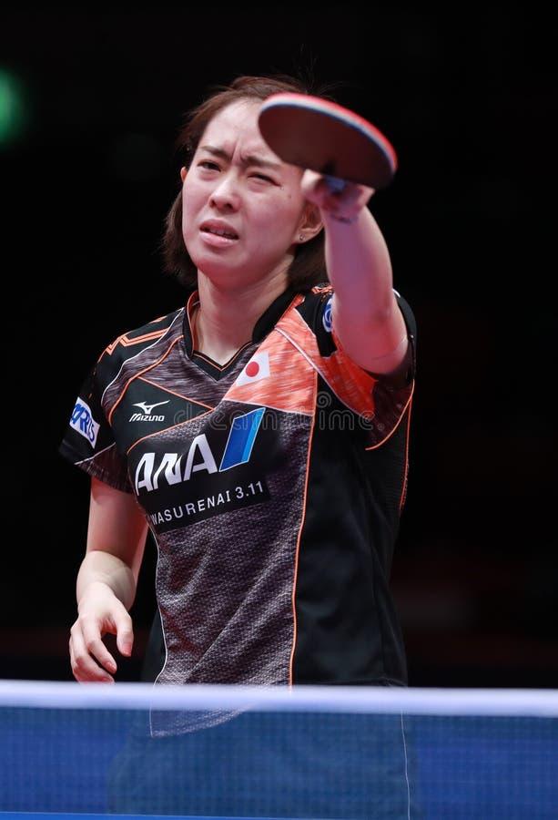 ISHIKAWA Kasumi de Japão que queixa-se fotografia de stock