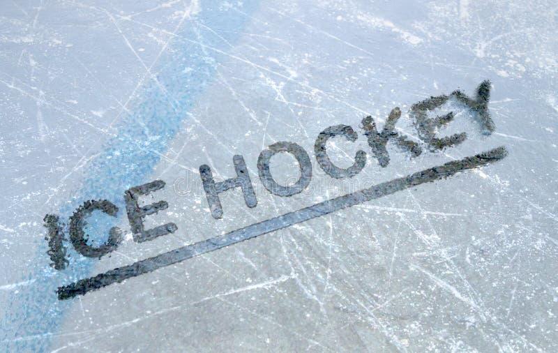 Ishockey royaltyfria bilder