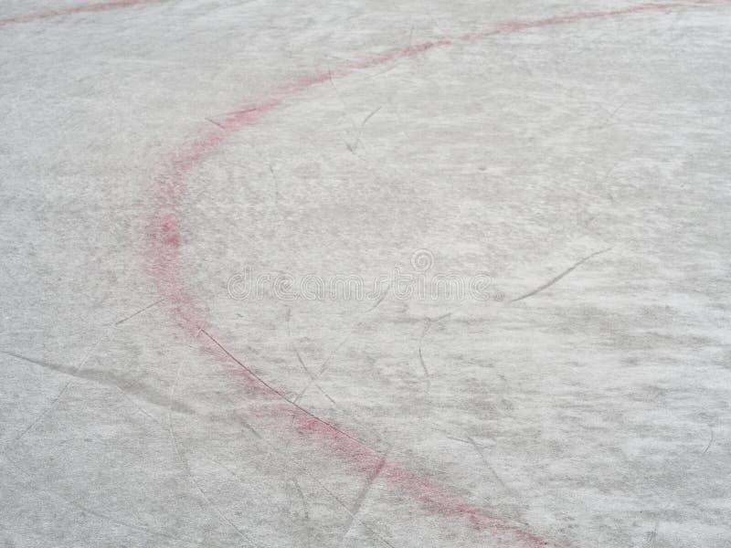 Ishockeyisbanateckning, bakgrund för vintersport, textur, vägg royaltyfri foto