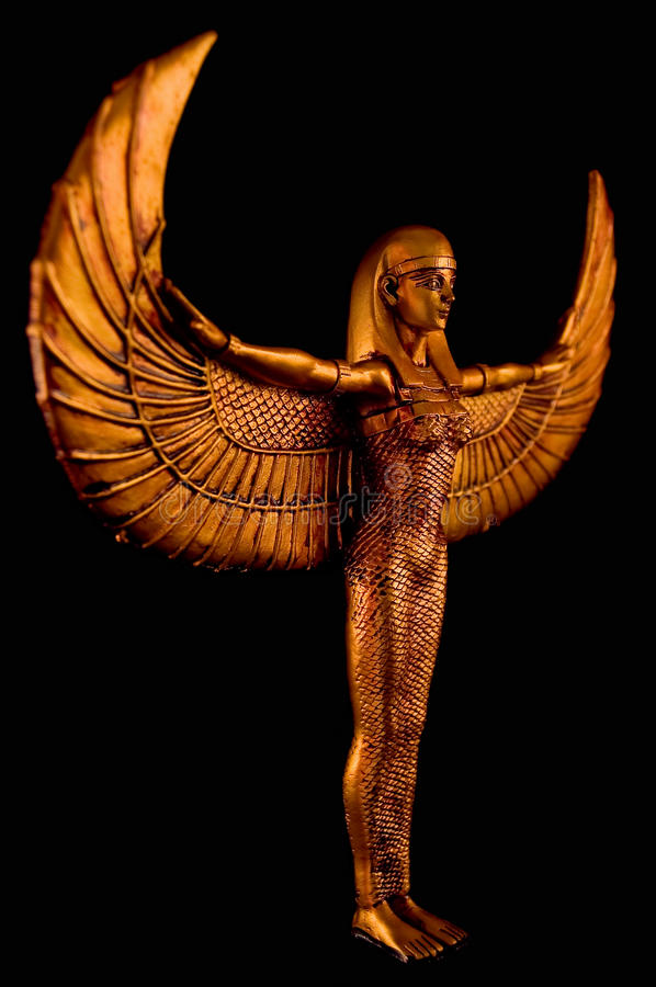 isis άγαλμα στοκ εικόνες με δικαίωμα ελεύθερης χρήσης