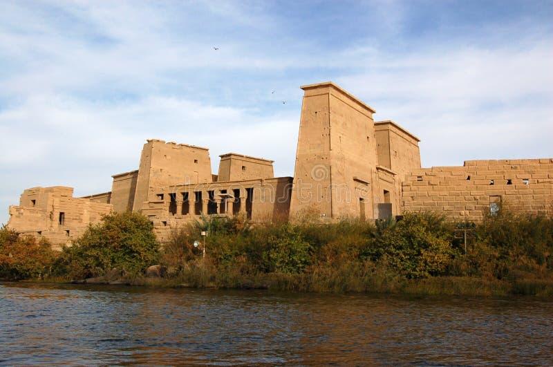 isis ναός philae στοκ εικόνα με δικαίωμα ελεύθερης χρήσης