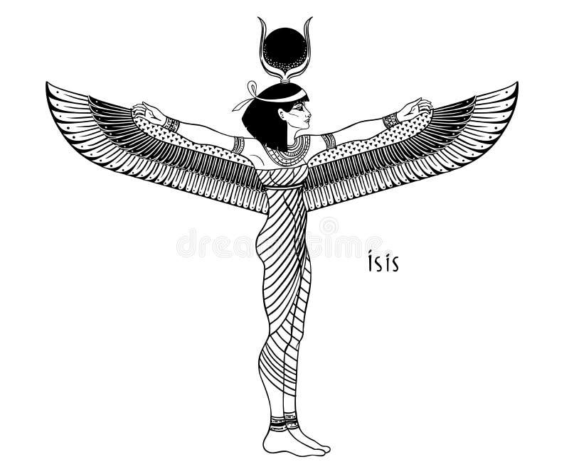 Egyptian Winged Goddess Stock Illustrations – 59 Egyptian Winged Goddess Stock Illustrations, Vectors & Clipart - Dreamstime