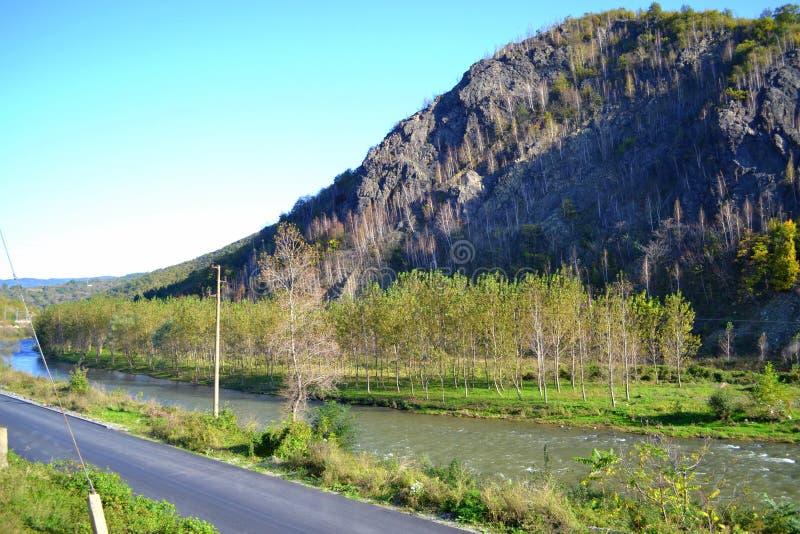 Iskar-Fluss, Bulgarien lizenzfreies stockbild