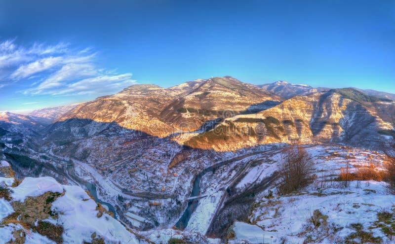 Iskar klyfta och Bov, Bulgarien arkivfoton