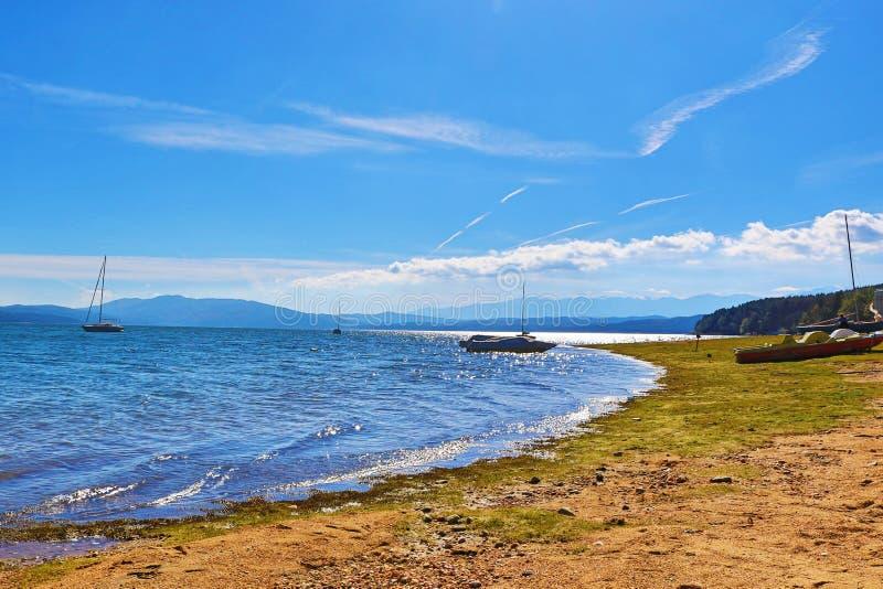 Iskar See Bulgarien lizenzfreies stockbild