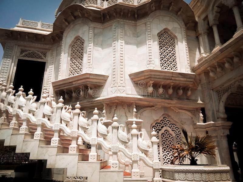 ISKCON-tempel arkivbild