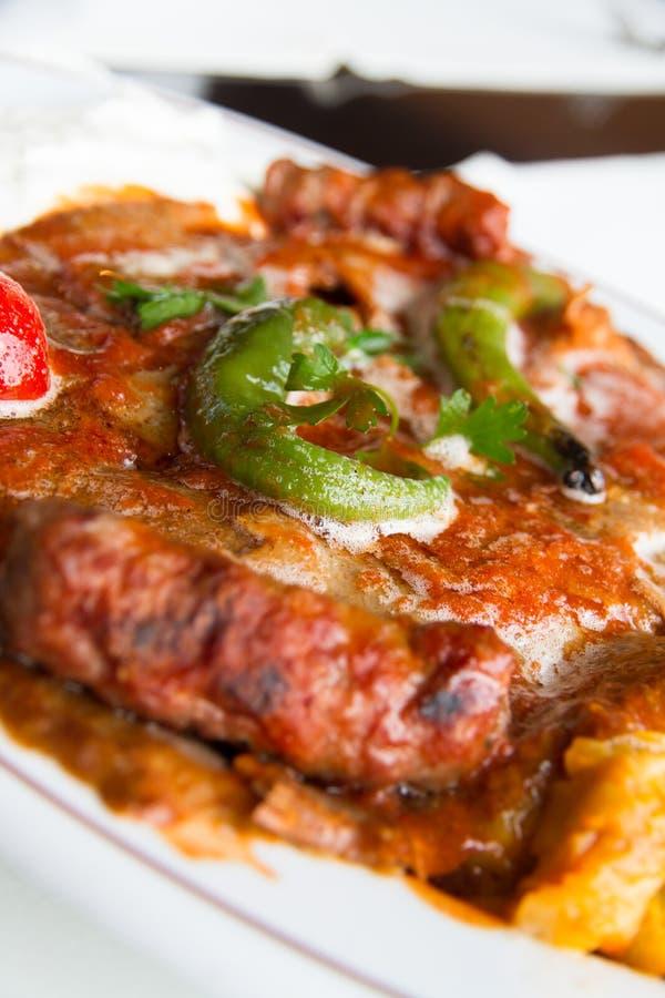 Iskender Kebab immagini stock libere da diritti