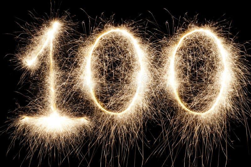 Jarzyć się 100 fotografia royalty free