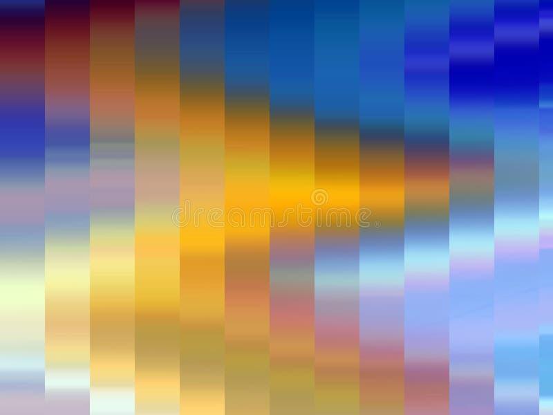 Iskrzaste miękkie złociste błękit menchii geometrie wykładają tło, grafika, abstrakcjonistycznego tło i teksturę, royalty ilustracja