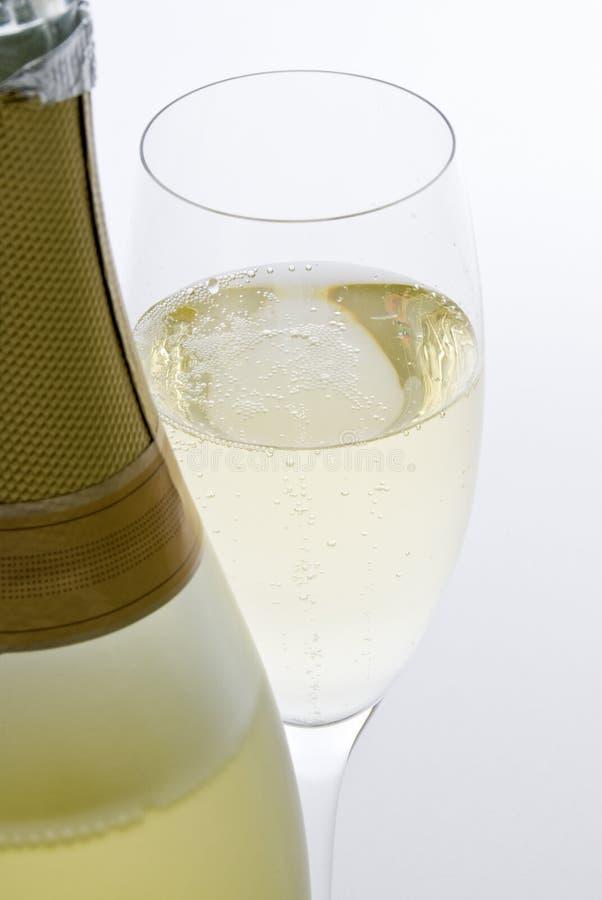 iskrzasty biały wino zdjęcia royalty free