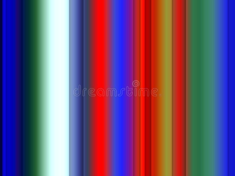 Iskrzasty czerwony błękitny zielonej liny tło, grafika, abstrakcjonistyczny tło i tekstura, royalty ilustracja