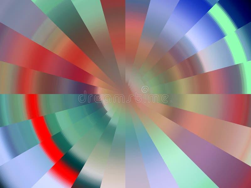 Iskrzasty diamentowy kolorowy miękkich świateł tło, grafika, abstrakcjonistyczny tło i tekstura, royalty ilustracja