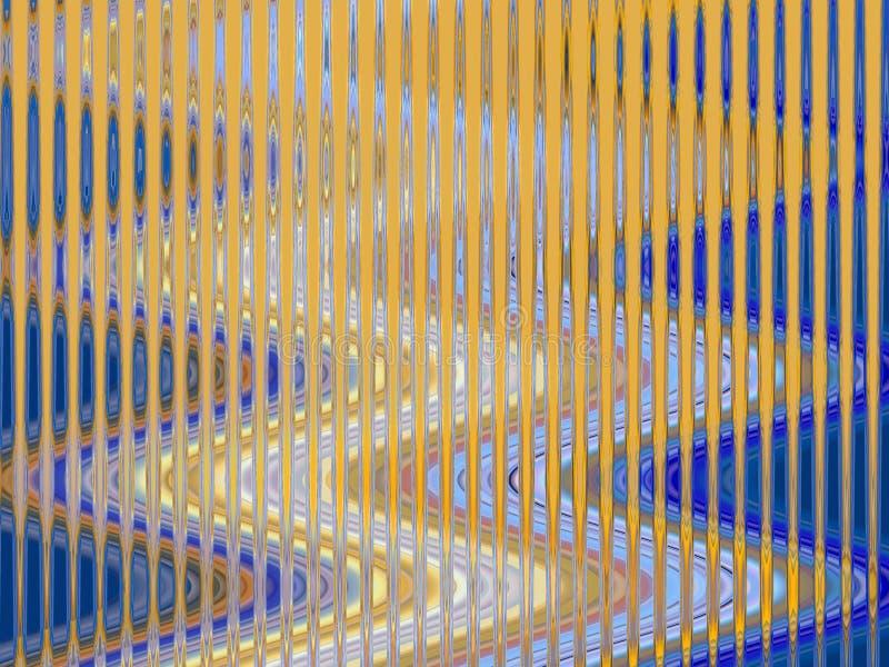 Iskrzasty orientalny złocisty błękit macha geometrii tło, grafika, abstrakcjonistycznego tło i teksturę, ilustracji