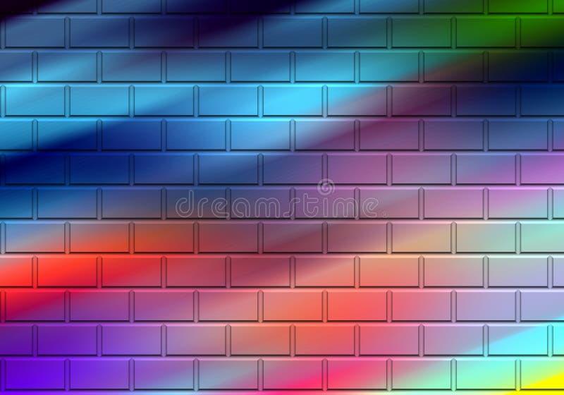 Iskrzasty pastelowy tęcz geometrii tło, grafika, abstrakcjonistyczny tło i tekstura, ilustracji