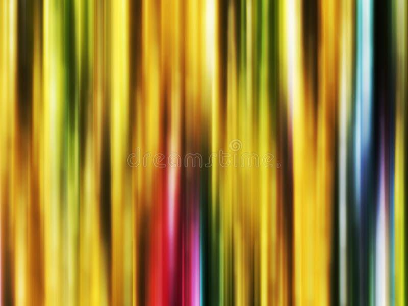 Iskrzasty złocisty czerwony błękitny miękkich linii tło, grafika, abstrakcjonistyczny tło i tekstura, ilustracji