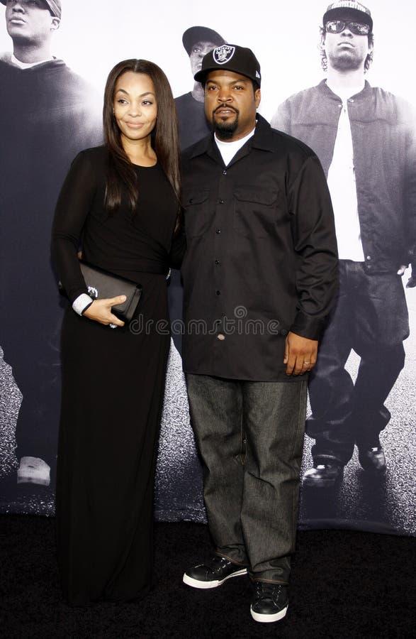 Iskub och Kimberly Woodfuff royaltyfria bilder