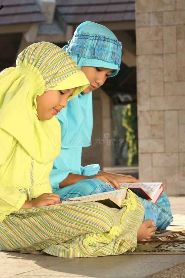 Islão, crianças fotos de stock