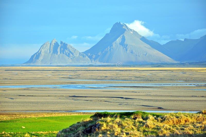 Isländische Landschaft Lizenzfreies Stockbild