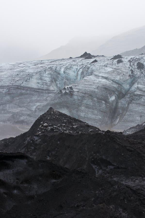 Download Isländischer Gletscher stockbild. Bild von boden, gefühl - 26366501
