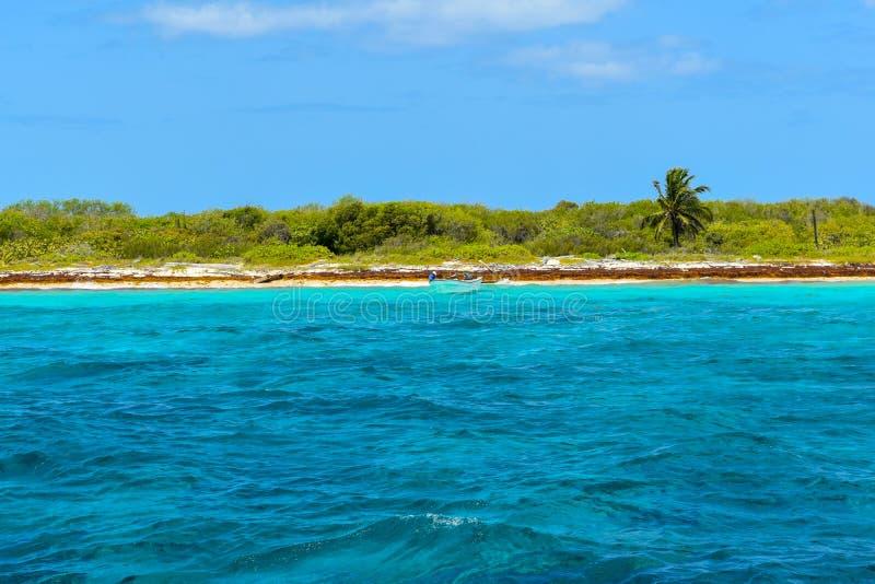 Isla卡塔利娜在多米尼加共和国 图库摄影