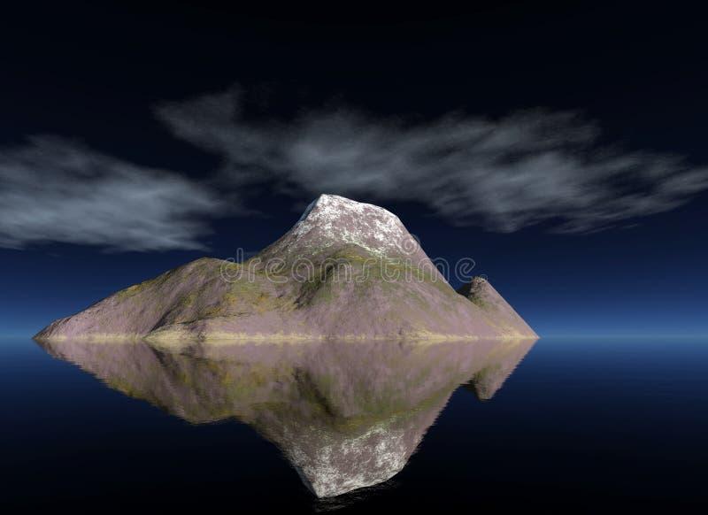 Isla ilustración del vector