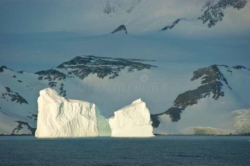 Isla antártica del hielo fotografía de archivo libre de regalías