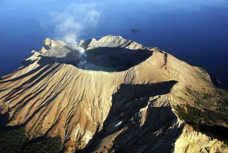 Isla blanca imagen de archivo