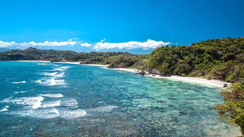 Isla blanca Filipinas Paradise tropical de Boracay de la playa fotografía de archivo libre de regalías