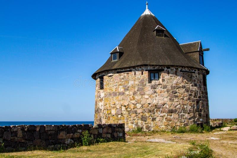 Isla Bornholm de Christiansoe imagen de archivo libre de regalías