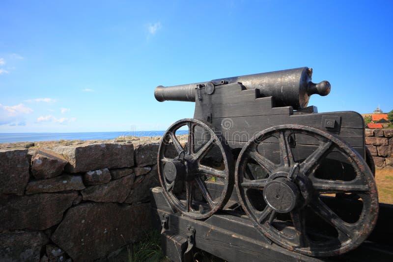 Isla Bornholm Dinamarca de Christiansoe del fuerte foto de archivo