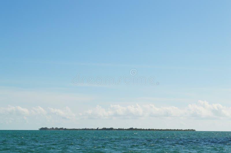 Isla caribeña imagen de archivo