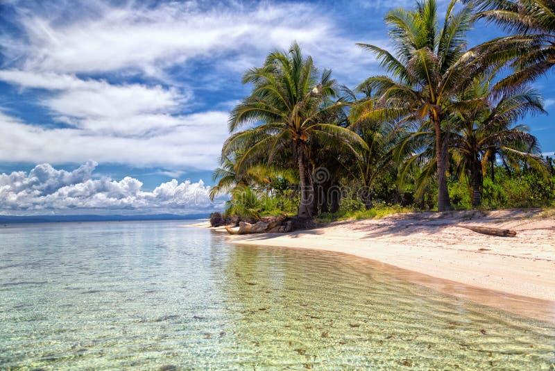 Isla caribeña en San Blas fotografía de archivo libre de regalías