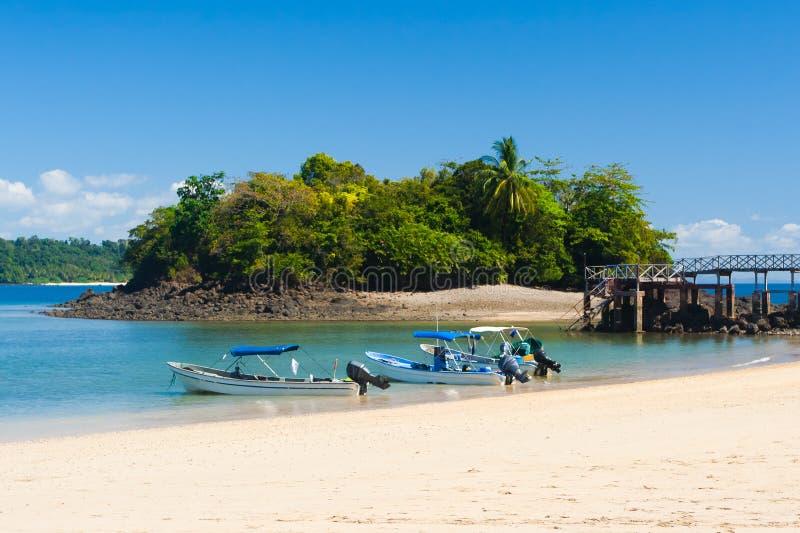 Isla Coiba fotos de archivo libres de regalías