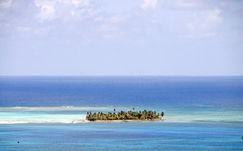 Isla Colombia de Johnny Caye San Andres foto de archivo libre de regalías
