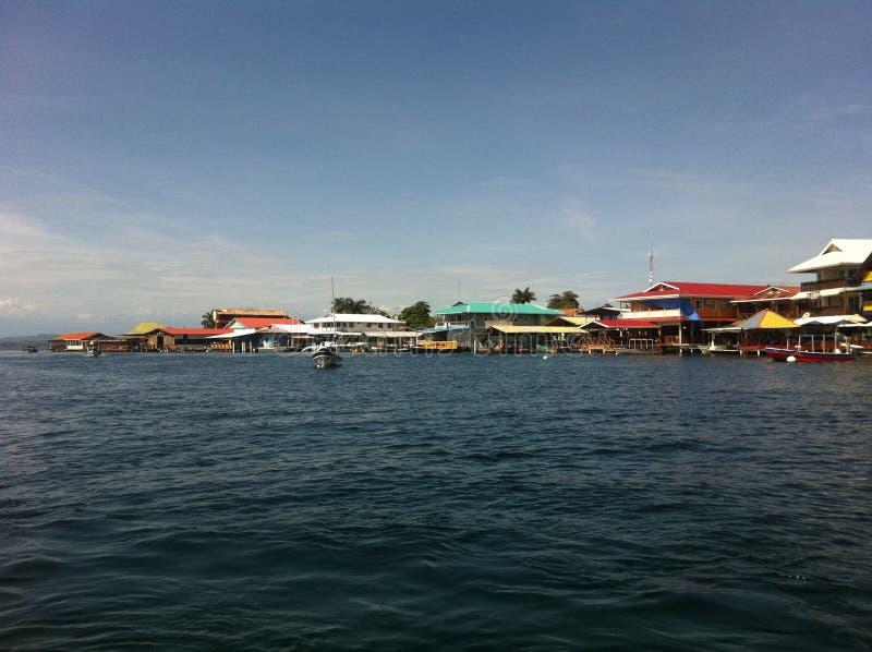 Isla Colon Bocas del Toro royaltyfri foto