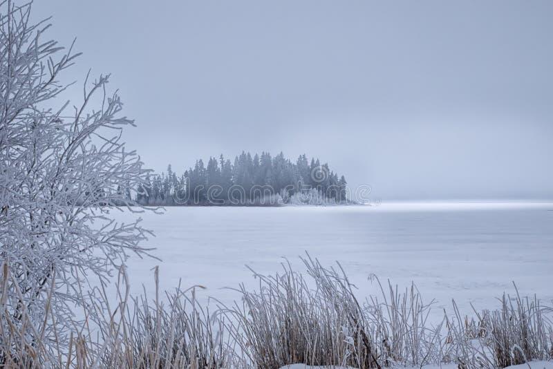Isla congelada fotos de archivo libres de regalías