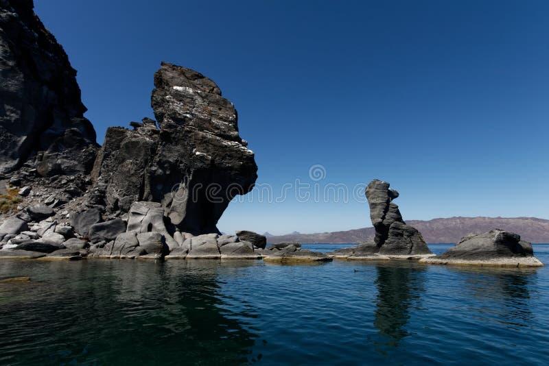 Isla Coronado, México 01 imagem de stock