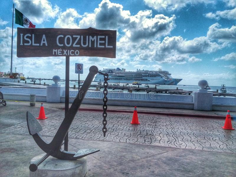 Isla Cozumel zdjęcia royalty free