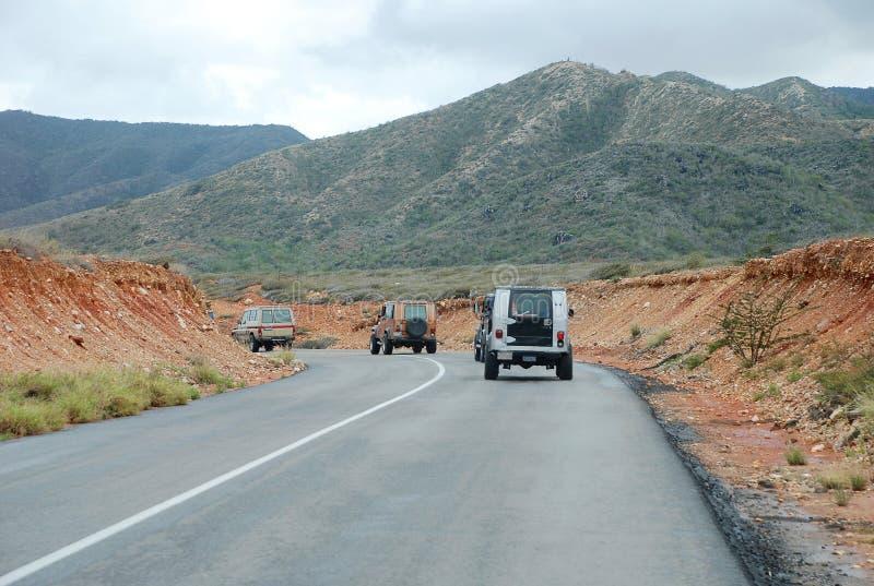 isla dżipa margarita drogowa wycieczka turysyczna obraz stock
