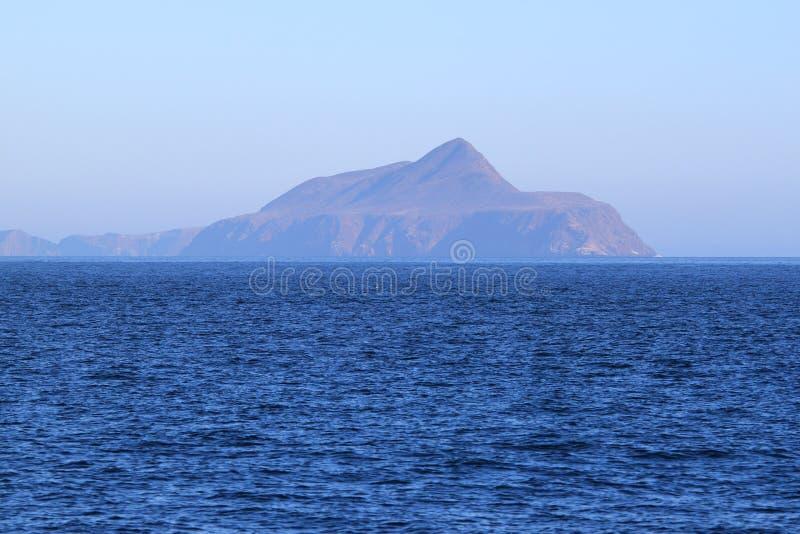 Isla de Anacapa imagenes de archivo