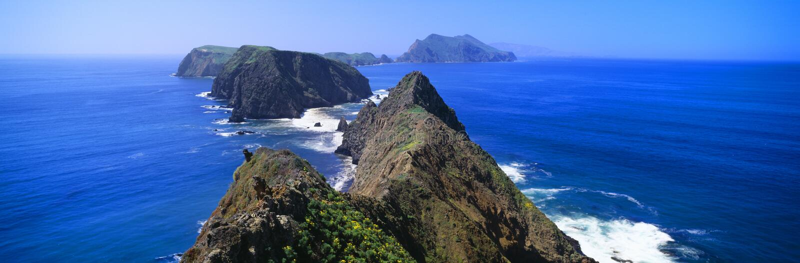 Isla de Anacapa imagen de archivo libre de regalías