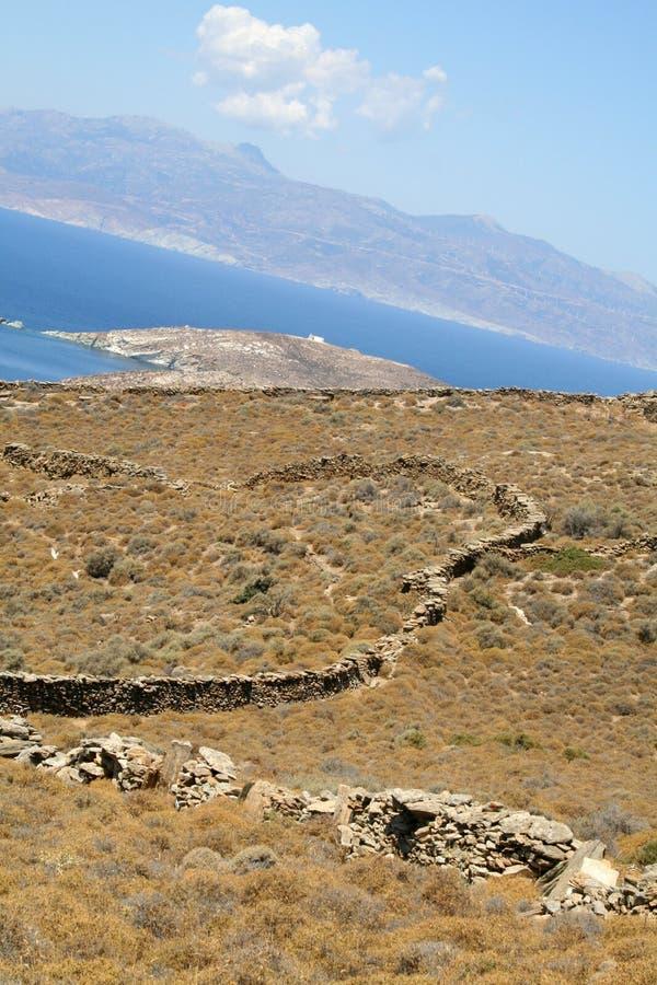 Isla de Andros fotos de archivo libres de regalías