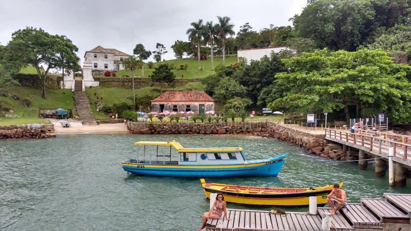 Isla de Anhatomirim imagen de archivo libre de regalías